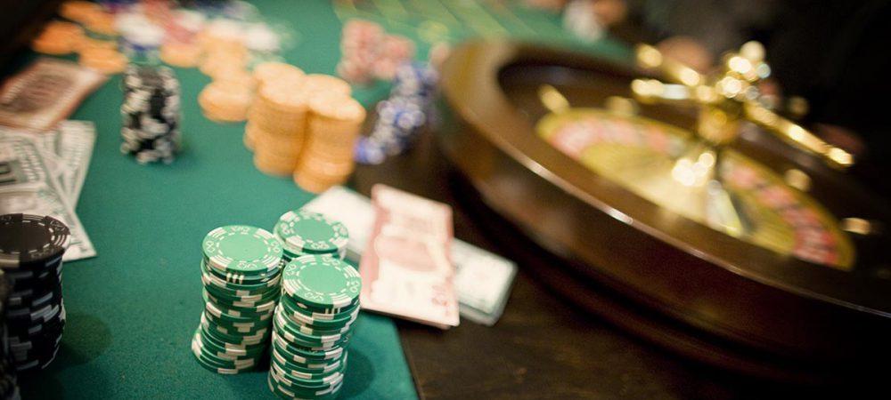 Stół do zabawy w ruletkę z obsługą krupiera - casino, casino wynajem